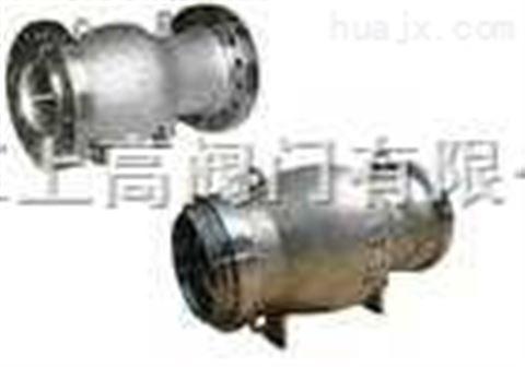 zh41w不锈钢轴流式止回阀流线型流道,介质不绕流,阀门流阻小,节省能源图片
