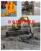无电施工液压清淤抽沙泵