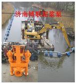 挖机液压绞吸砂泵-水库鱼塘高效清淤机械