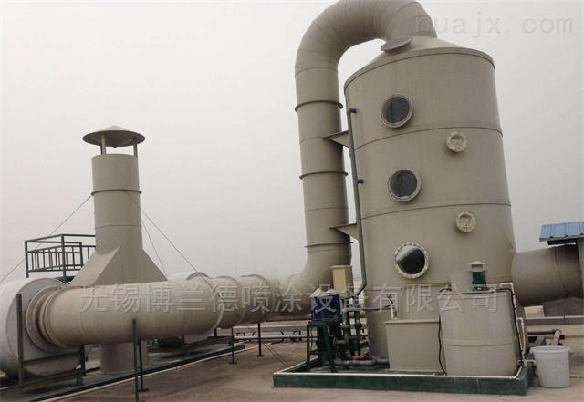江苏废气喷淋塔 酸雾净化塔除尘脱硫效率高