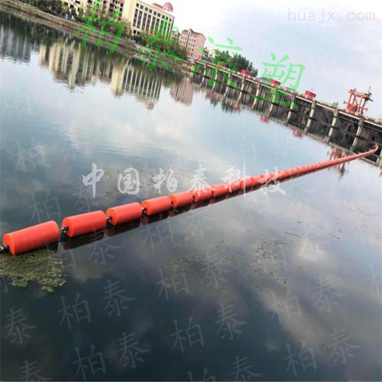 呈贡县水力发电厂拦截漂浮物塑料浮筒哪买的