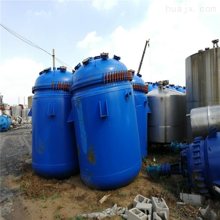 扬州闲置处理二手5T搪瓷反应釜