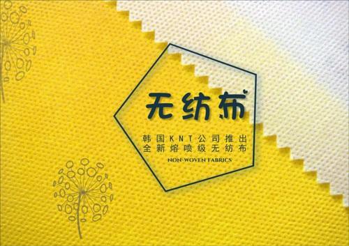 韩国KNT公司成功推出全新熔喷级无纺布