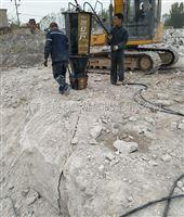 矿山开采气体膨胀器岩石分裂机一天二千方