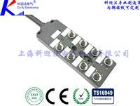 M12传感器分线盒PNP型